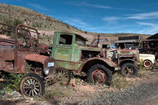 Gold King Mine and Ghost Town | Sitting a mile north of Jerome, Gold King Mine and Ghost Town harbors an assortment of ramshackle buildings, a menagerie of friendly animals and a sprawling array of rusted machinery that forever teeters between ruin and redemption. This is paradise for gearheads and photographers. |Details:928-634-0053, goldkingmineghosttown.com.