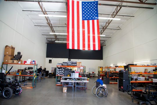 Todd Lemay, owner of TerrainHopper USA in Tempe, partners with philanthropic individuals and companies to purchase and donate to organizations like the Muscular Dystrophy Association, Ability360 and Paralyzed Veterans of America that provide equipment to those in need or donate them to loan closets nationwide.