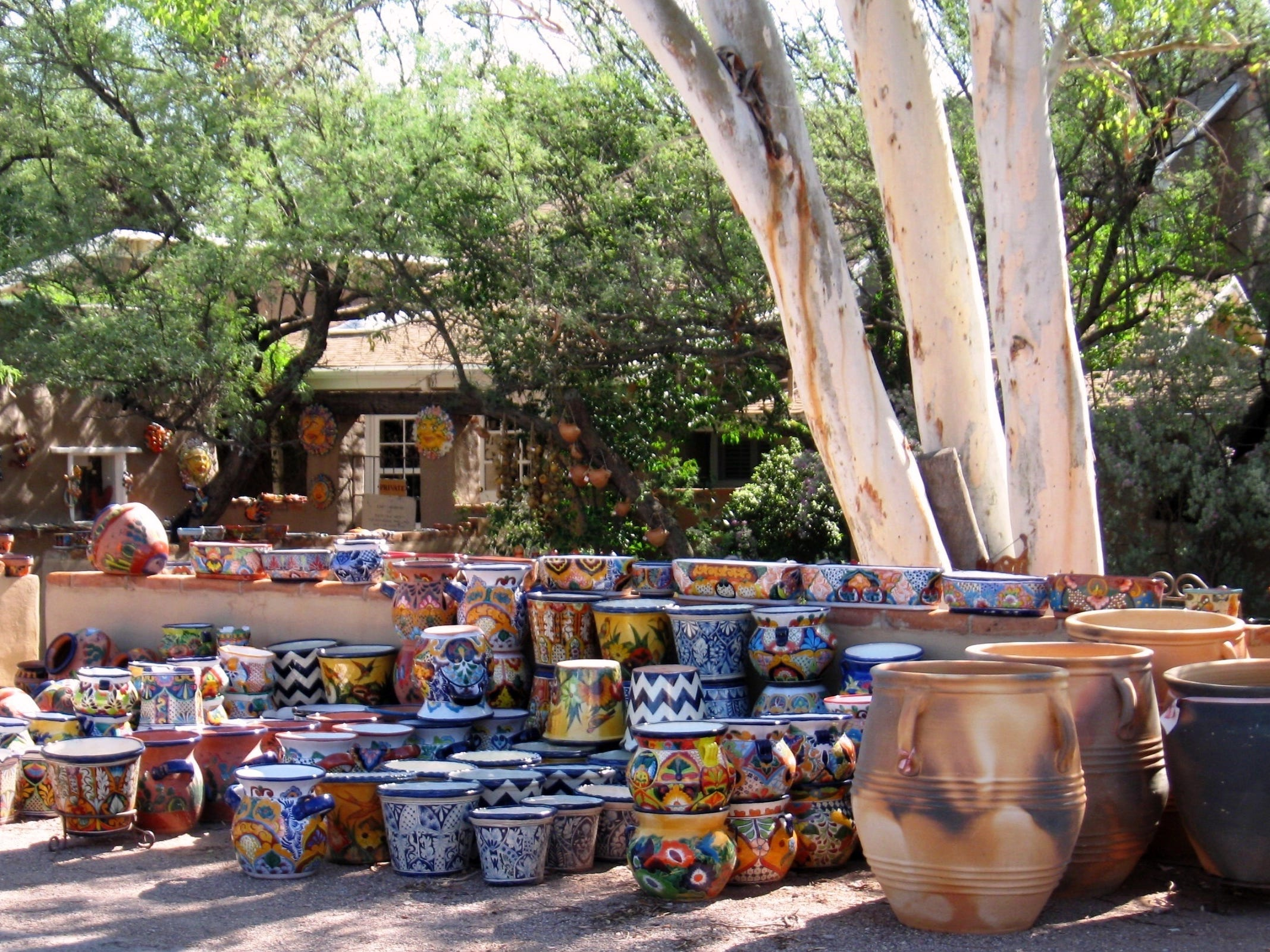 Tubac | Today, more than 80 art galleries and shops are clustered in the village plaza where old adobes, shady courtyards and ocotillo fences blend seamlessly with a handful of newer buildings. | Thanksgiving weekend bonus: The Tubac Fall Art Walk is from 10 a.m.-5 p.m. Nov. 23, with demonstrations, receptions and special events all day. | Details: 520-398-2704, www.tubacaz.com.