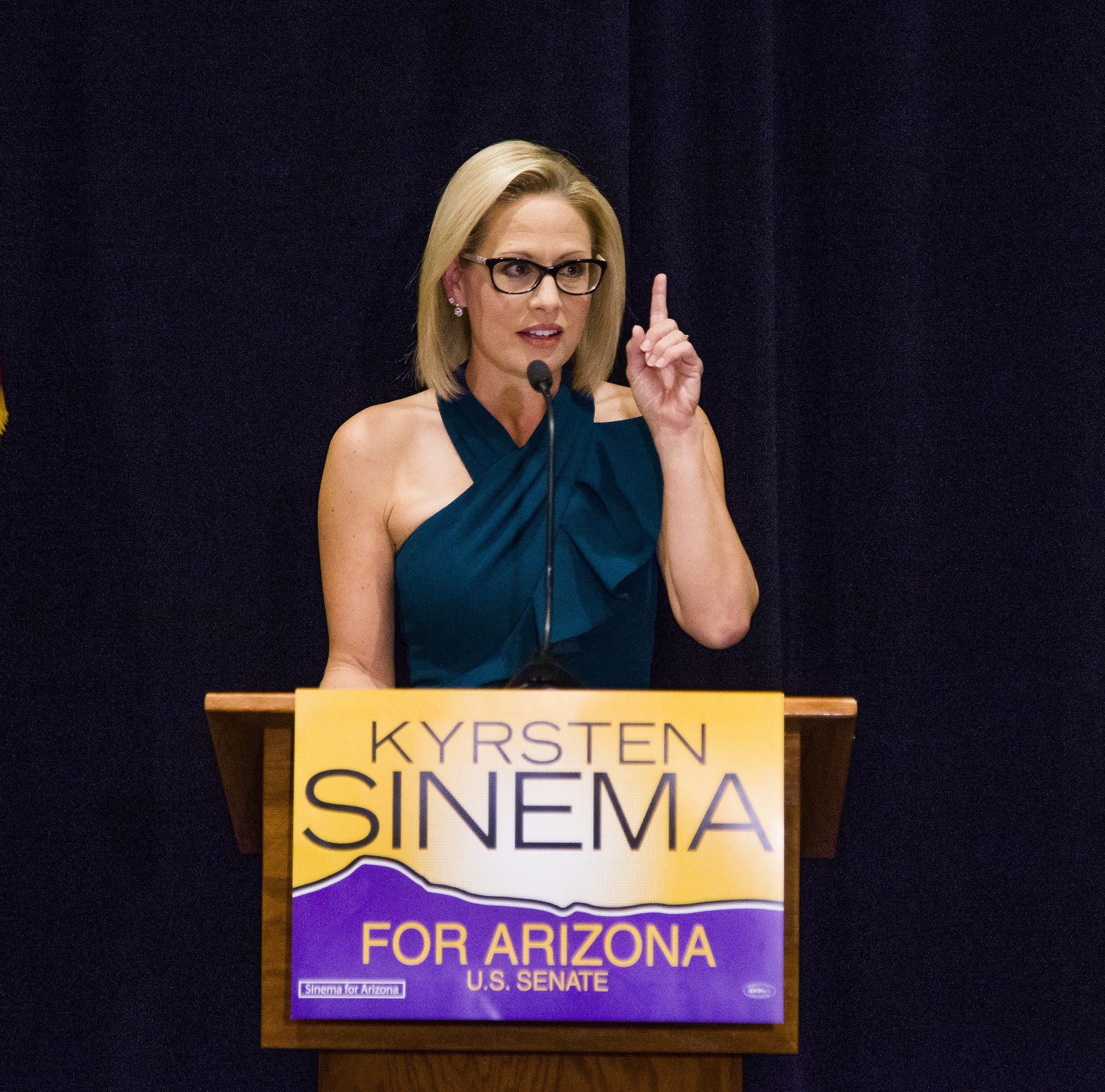 Kyrsten Sinema didn't just make history. She became a symbol of hope