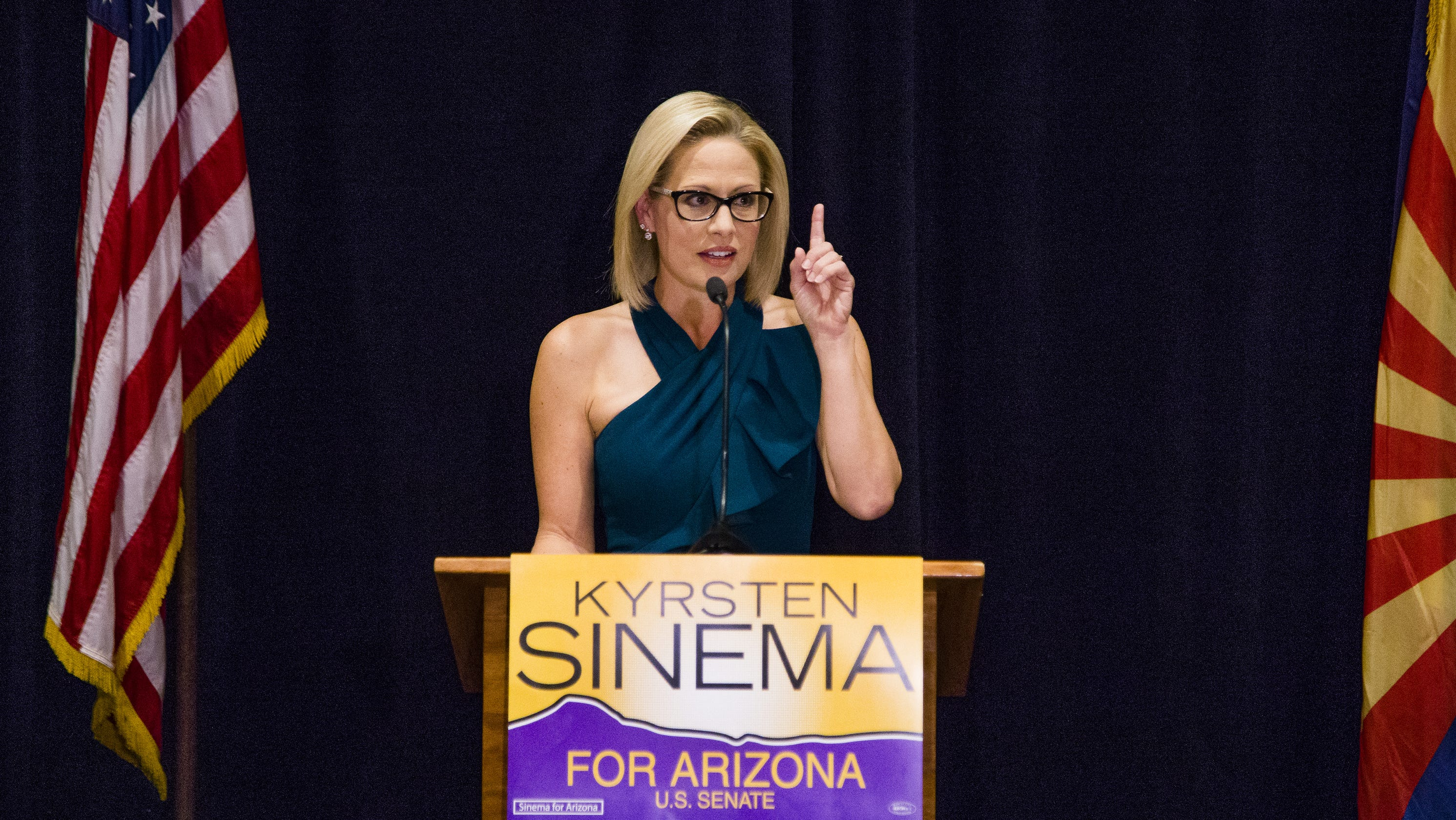 Attention Senators Questions 14 >> Arizona S Kyrsten Sinema To Be First Openly Bisexual U S Senator