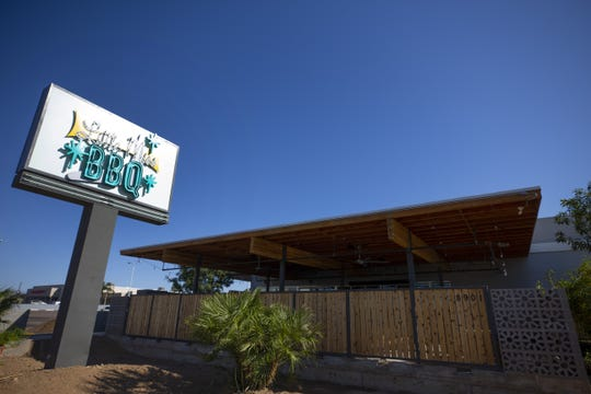 Chef/owner Scott Holmes is getting ready to open his second Little Miss BBQ in north Phoenix.