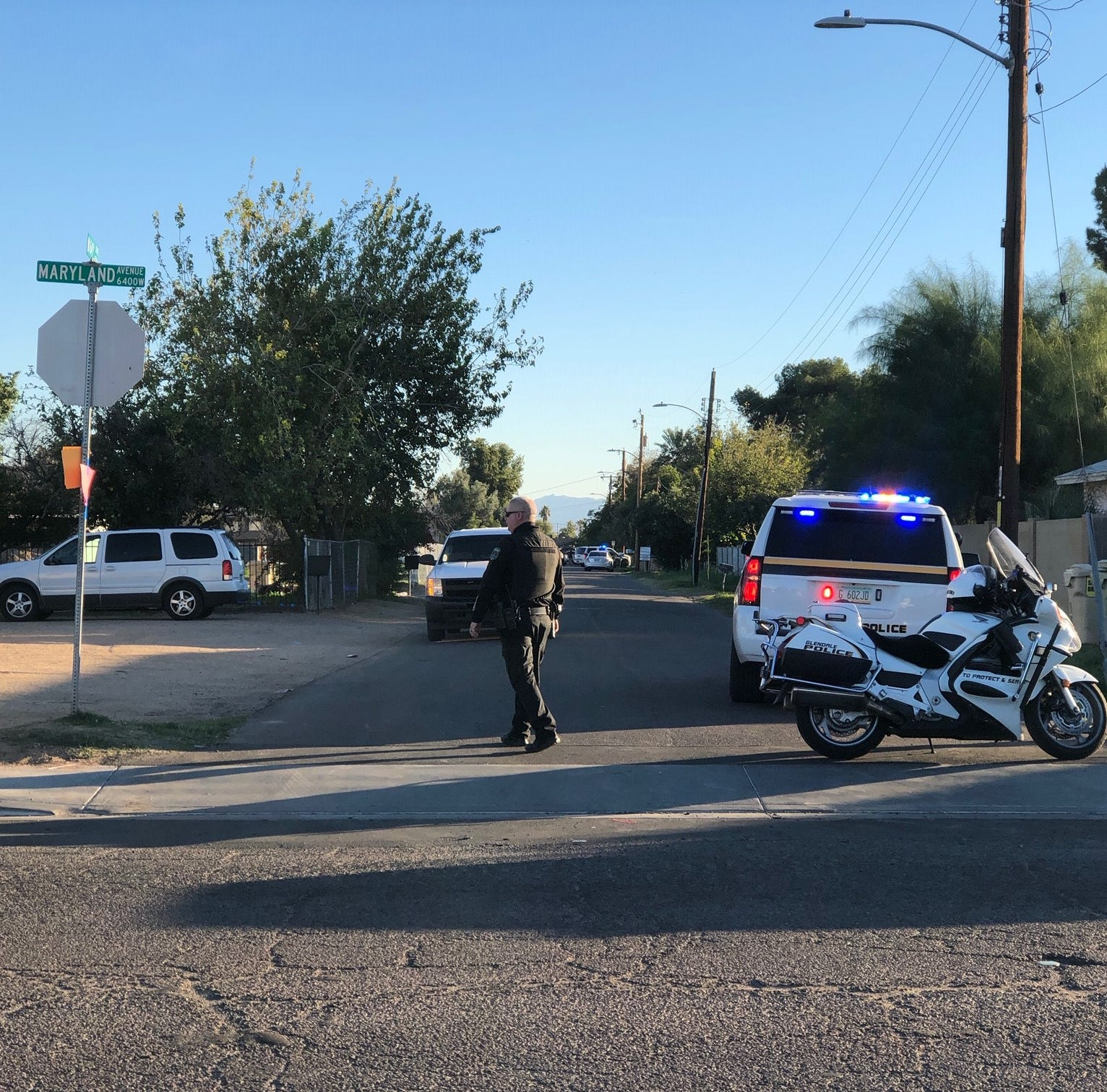 Man shot to death by police after pursuit through Phoenix and Glendale
