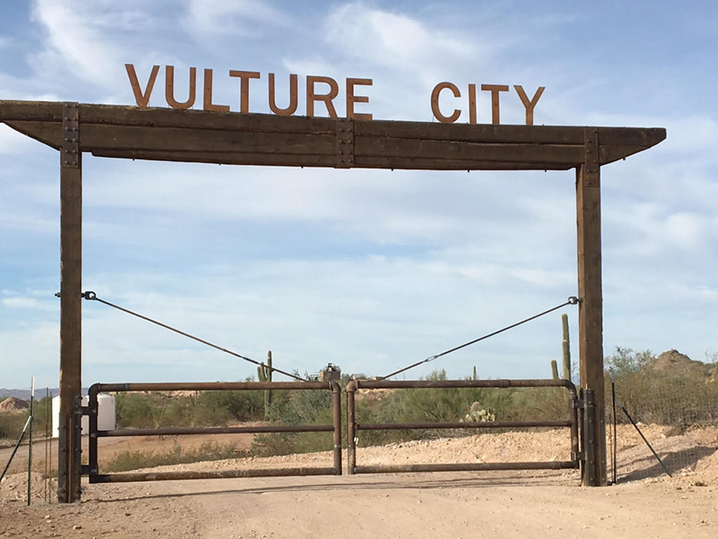 Vulture City ghost town | See the reason Wickenburg exists when you visit the ghost town of Vulture City.  Walk the graveled half-mile path to see the collection of weathered historic buildings surrounded by old mining equipment such as the stamp mill and headframe. Guided tours are offered at 10 a.m. Saturdays and Sundays. | Details: 877-425-9229, www.vultureminetours.com.