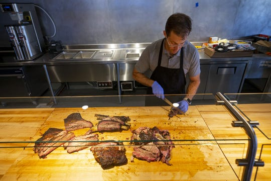 Chef/owner Scott Holmes is getting ready to open his second Little Miss BBQ in north Phoenix. Holmes has been busy perfecting Central Texas-style BBQ before their opening day.
