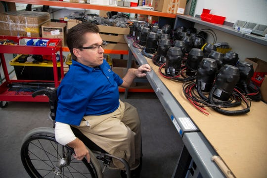 Todd Lemay, owner of TerrainHopper USA in Tempe, discovered TerrainHopperswhile searching on the internet for wheelchair alternatives that would allow him to have that beach experience he craved.
