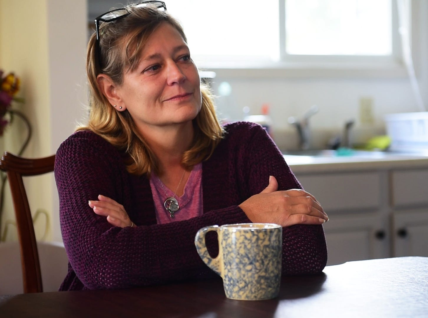 "Jodi Zbierajewski, house manager of Light House Sober Living, said she's seen both sides of the legal system and felt blessed that she could work at Light House and help residents that are trying to find a way out from addiction. ""You can't do it alone,"" she said. ""It just doesn't work alone."""