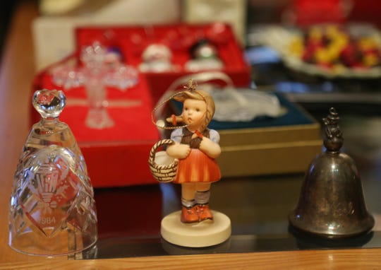 Christmas ornaments that are Part of Ann Marie Bybel's ornament collection at her home in Wappingers Falls on November 9, 2018.