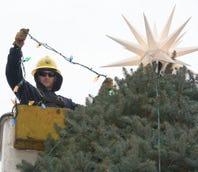 Christmas tree comes to Chambersburg
