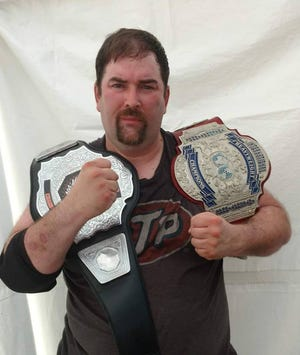Pro Warrior Alliance Triple Crown Champion Joe Floyd will be competing as part of the Headlock on Hunger competition raising food for the York County Food Bank on Saturday, Nov. 17. (Photo courtesy of  the Pro Warrior Alliance)