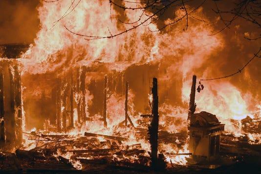 Franklin Twp. house fire
