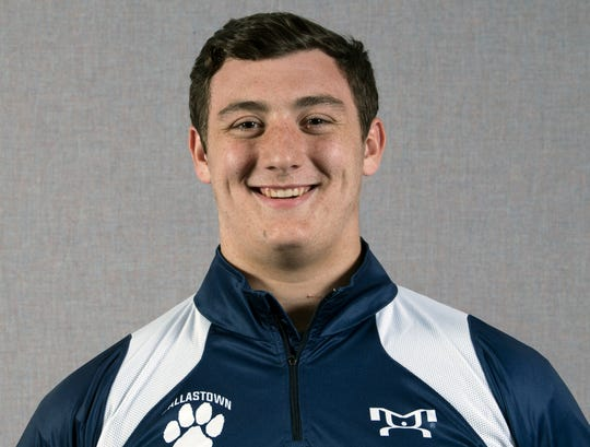 Raymond Christas, Dallastown wrestling team, during the 2018-19 GameTimePa YAIAA Winter Media Day Sunday November 11, 2018.