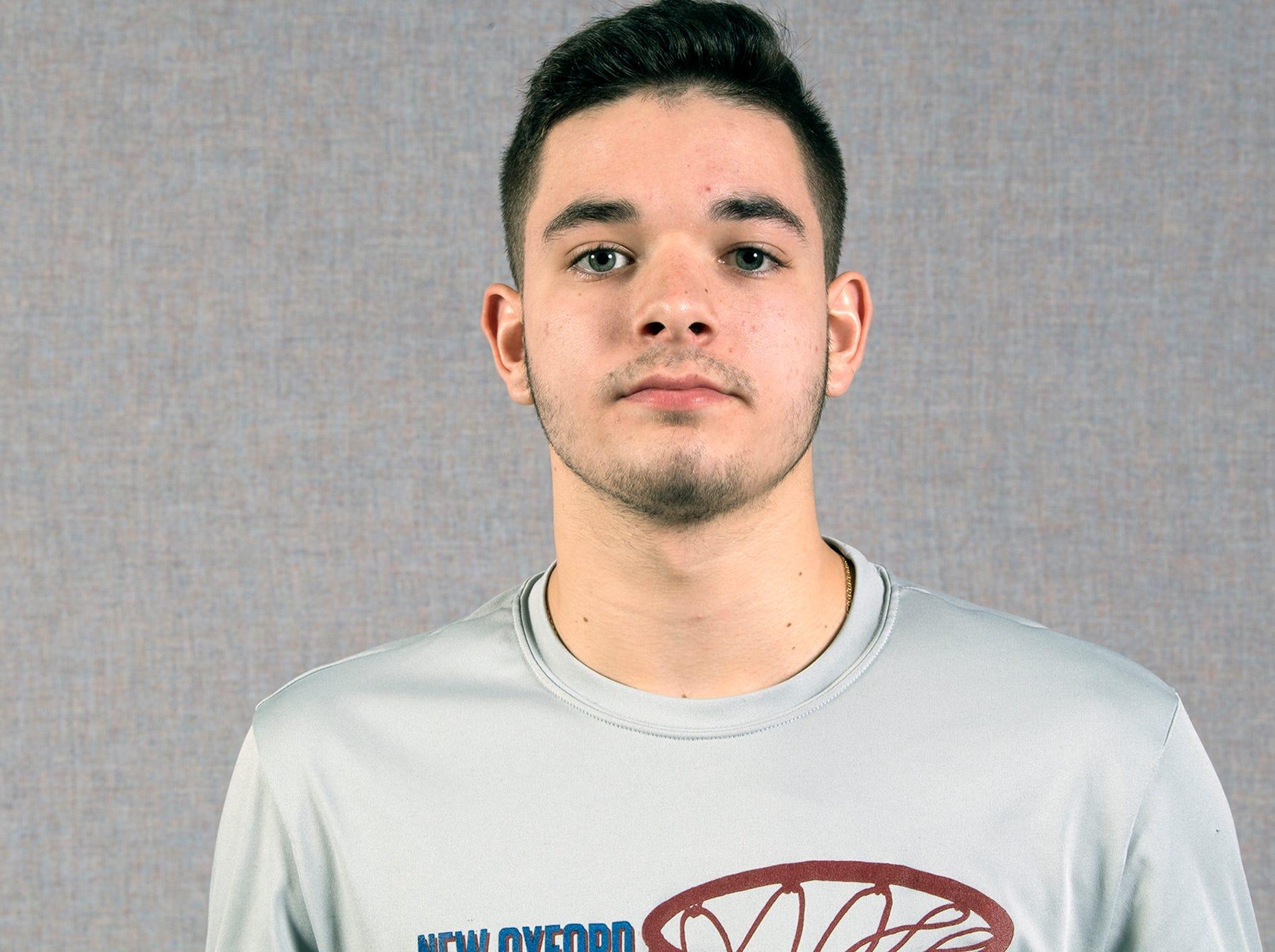 Cameron Krebs, New Oxford Basketball, during the 2018-19 GameTimePa YAIAA Winter Media Day Sunday November 11, 2018.