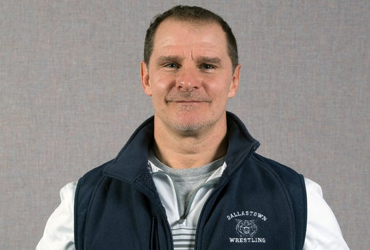 Coach Dave Gable, Dallastown wrestling team, during the 2018-19 GameTimePa YAIAA Winter Media Day Sunday November 11, 2018.