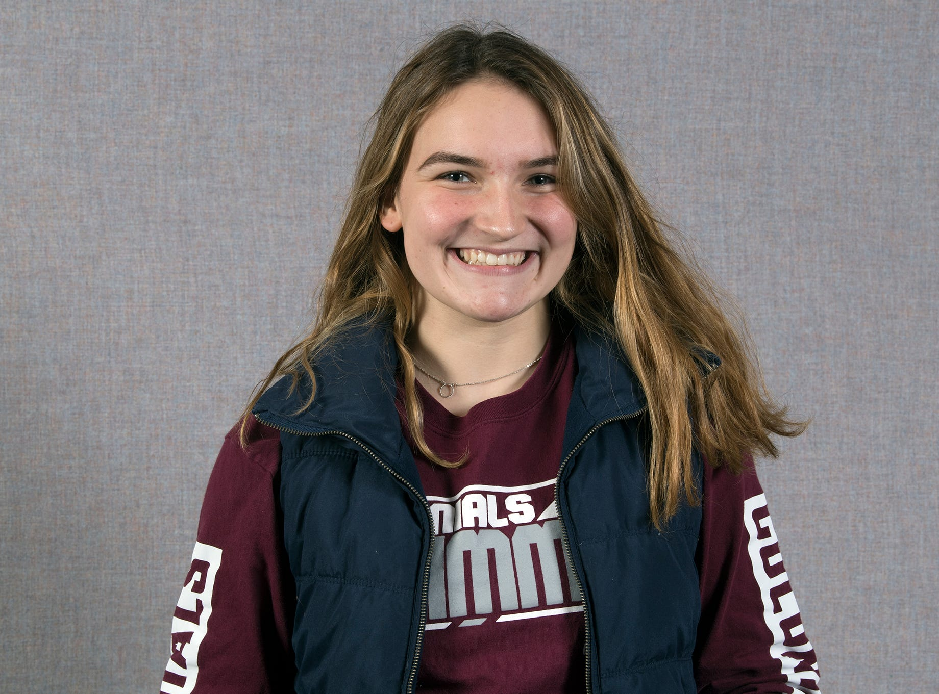 Lauren Richter, New Oxford Swim Team, during the 2018-19 GameTimePa YAIAA Winter Media Day Sunday November 11, 2018.