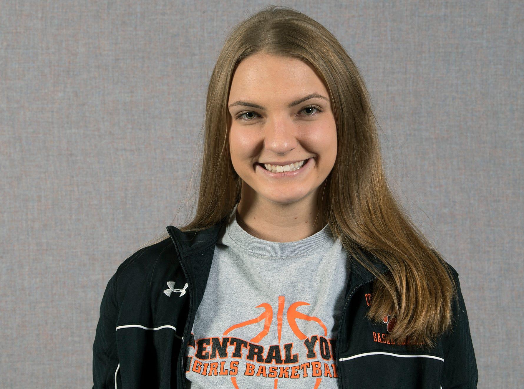Katie Fabbri, Central York High School Basketball, during the 2018-19 GameTimePa YAIAA Winter Media Day Sunday November 11, 2018.