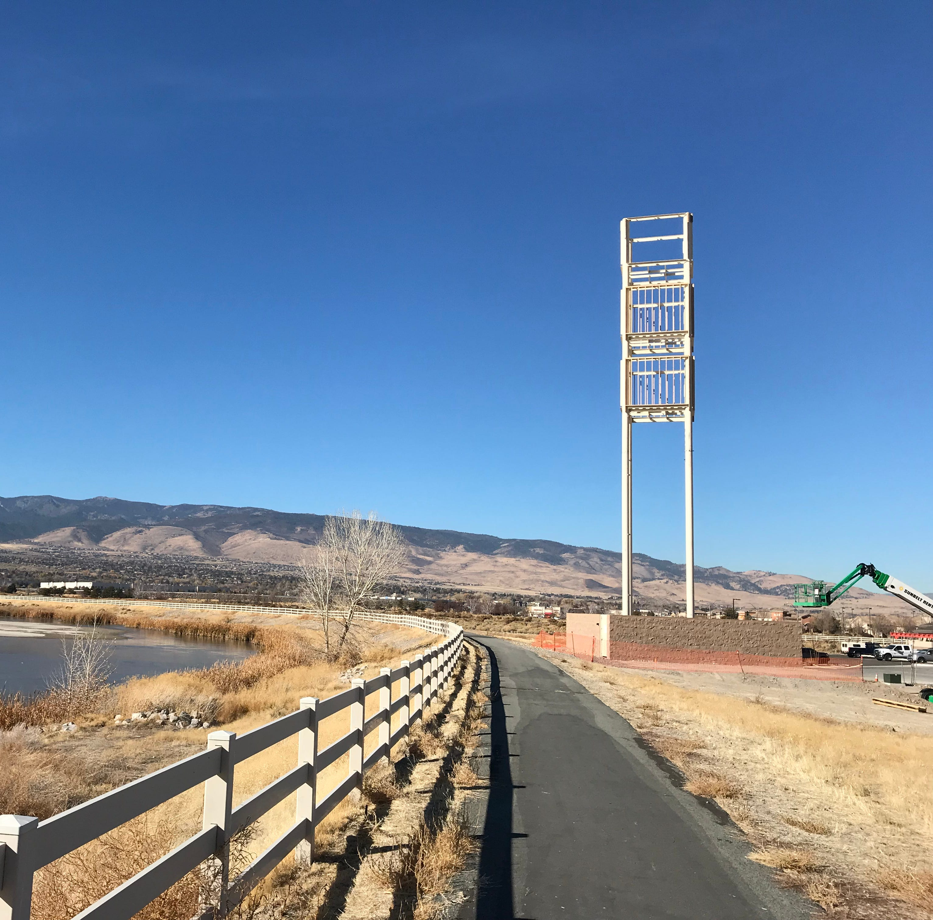 What's that big tower near South Reno's fire station? We did some digging
