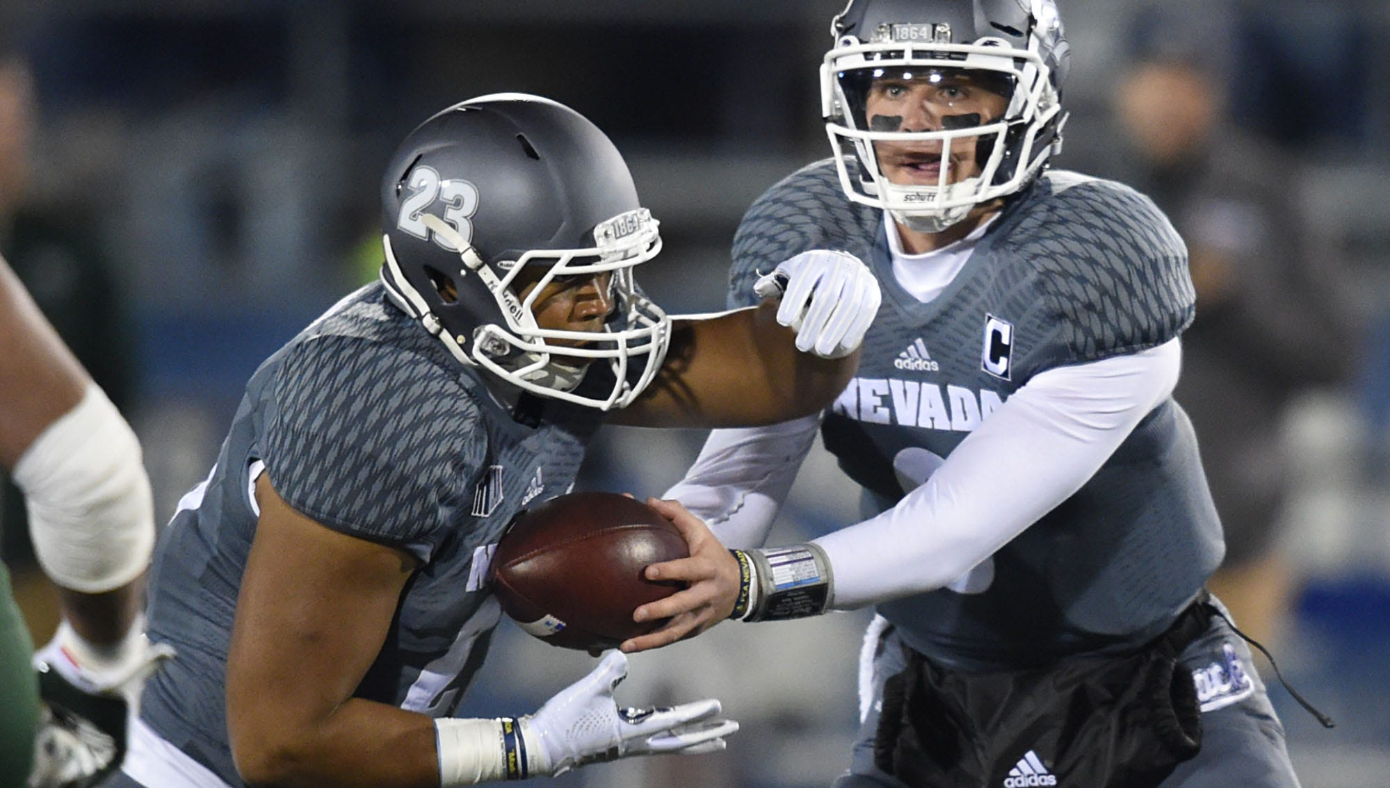Images from the Nevada football game against Colorado State on Senior Night at Mackay Stadium on Saturday Nov. 10, 2018.