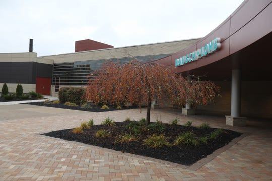 Bausch + Lomb Rochester Optics Center is located on North Goodman St. in Rochester on Nov. 13, 2018.