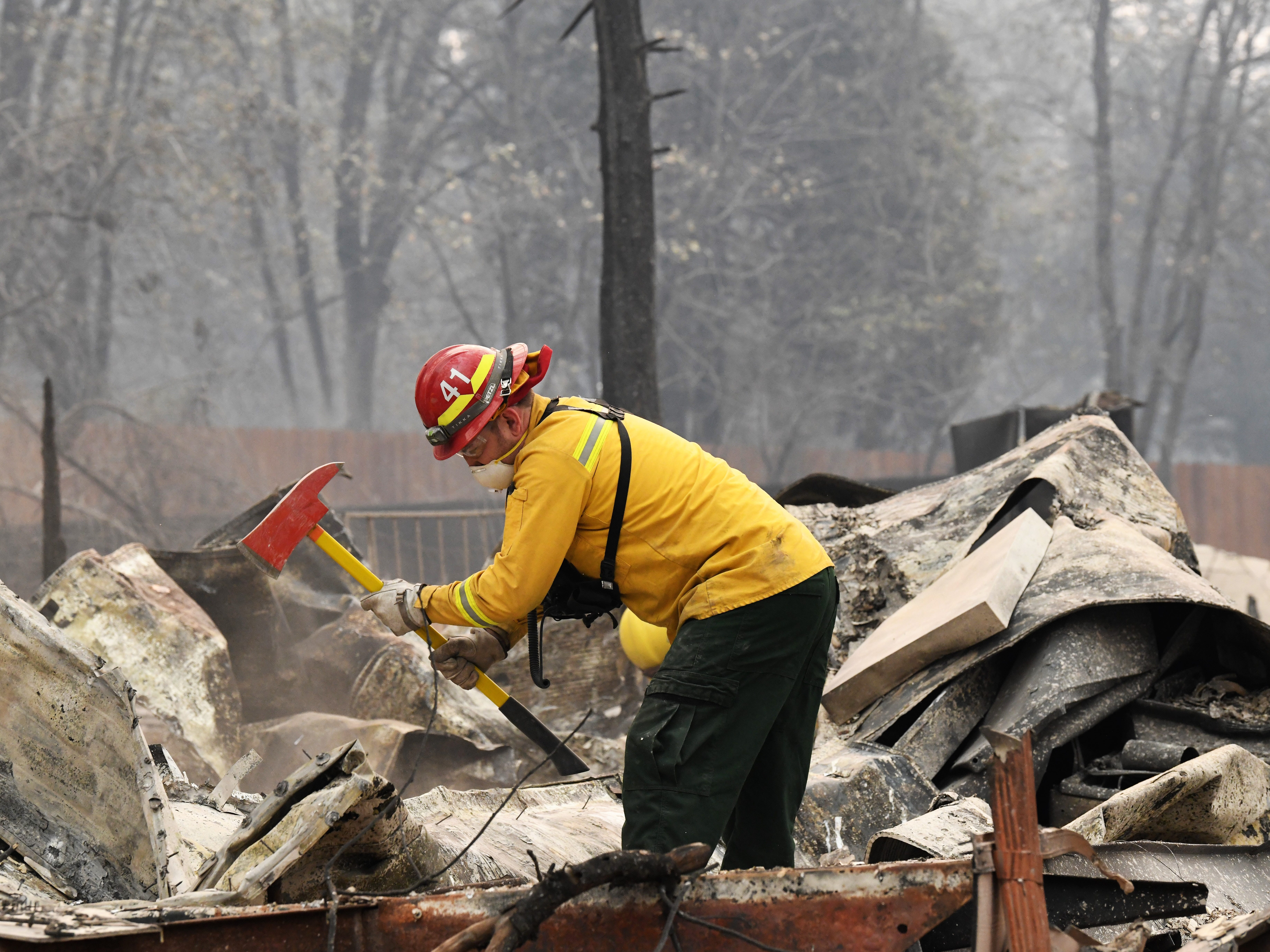 Camp Fire death toll rises to 48, becoming California's deadliest wildfire in modern history