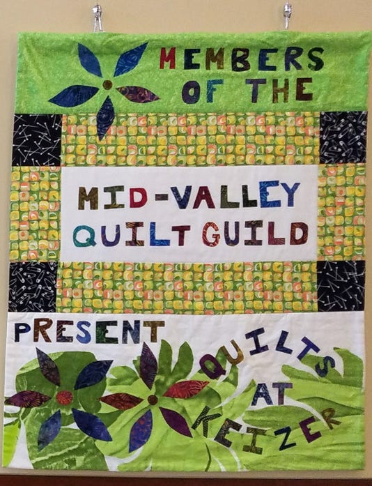 2018 Quilts At Keizer Exhibit