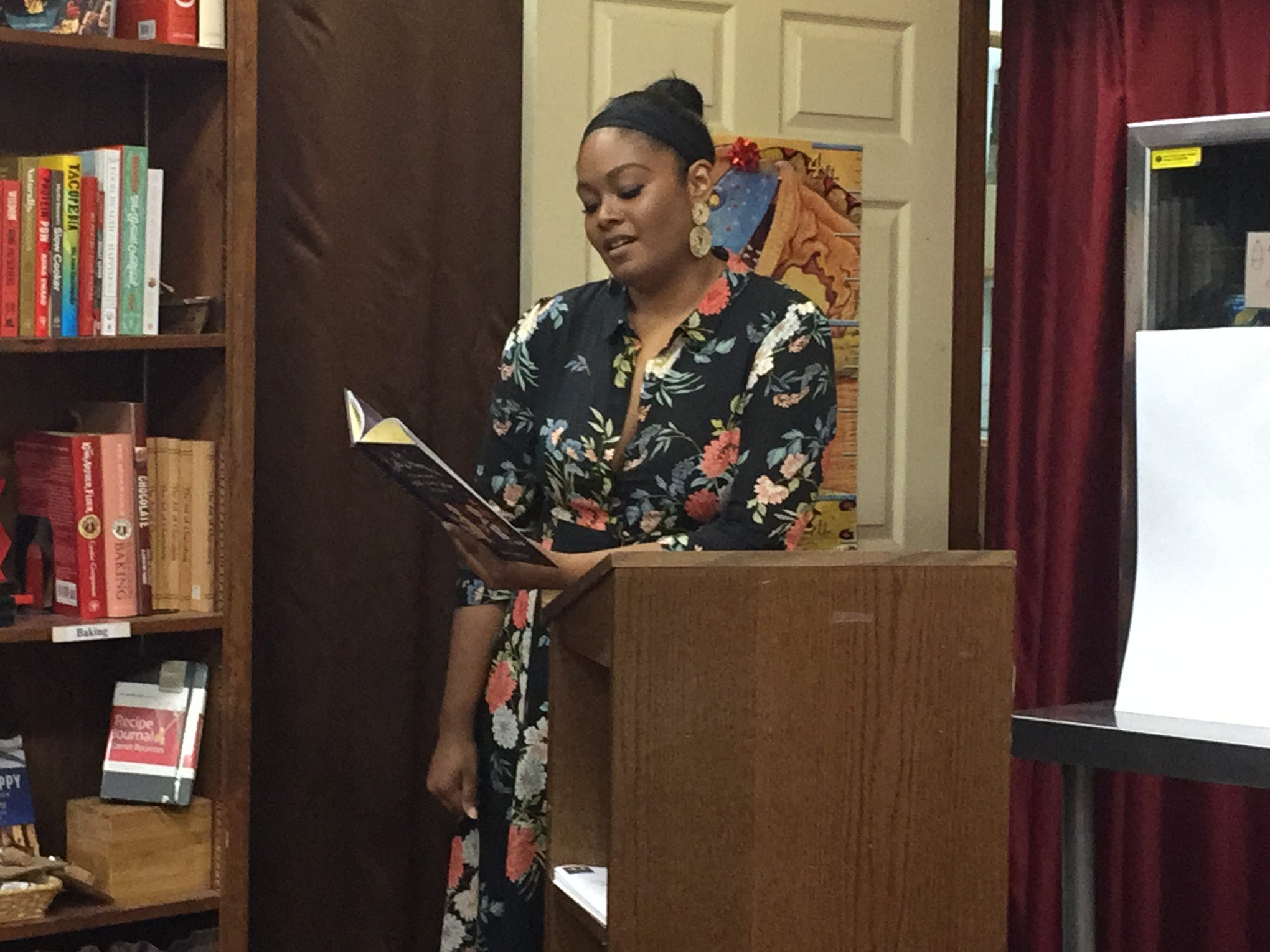 Accomack author Vashti Harrison dares young girls to dream in new book