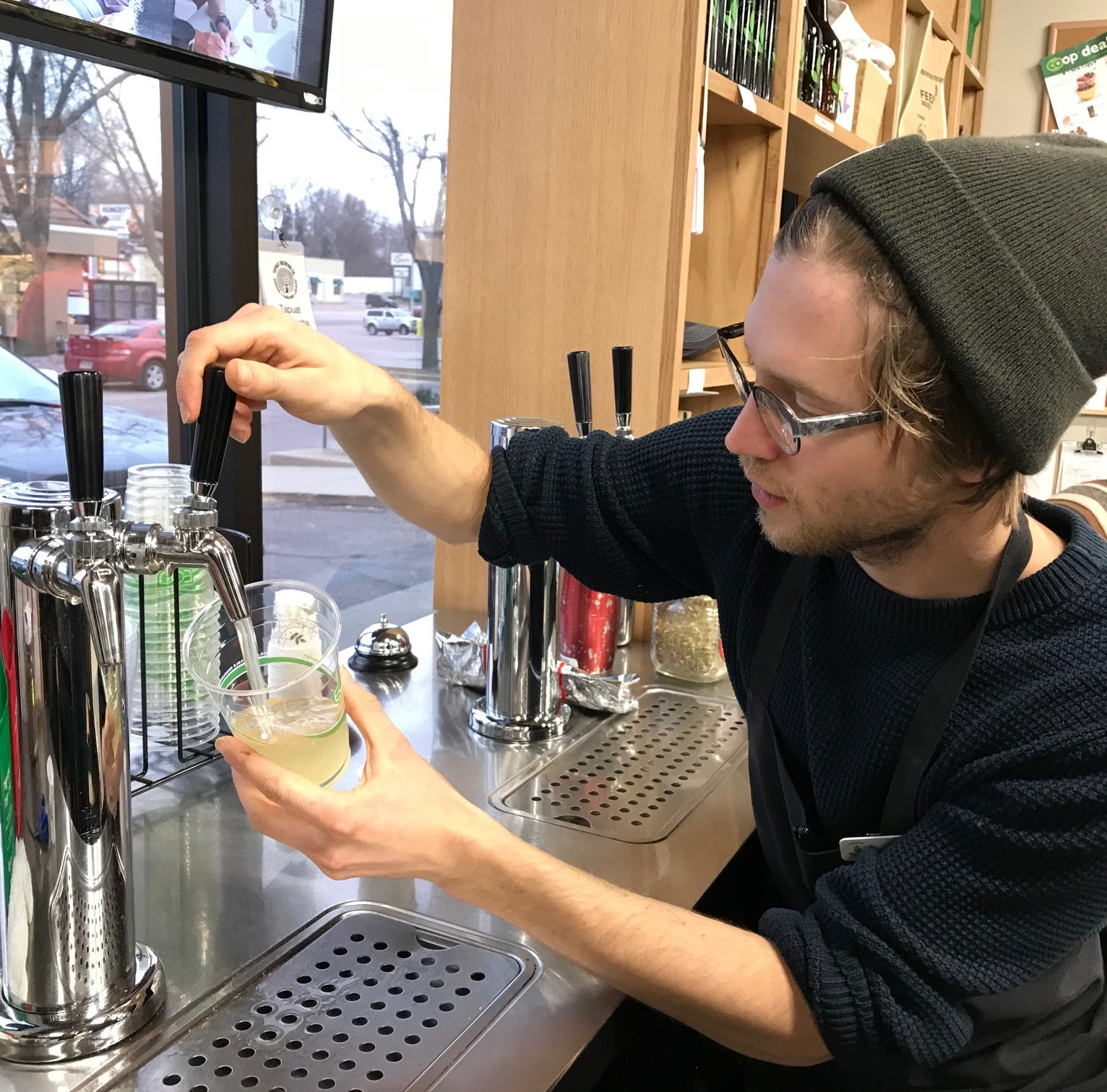 Fruit-forward kombucha flying out the door at Sioux Falls Co-op