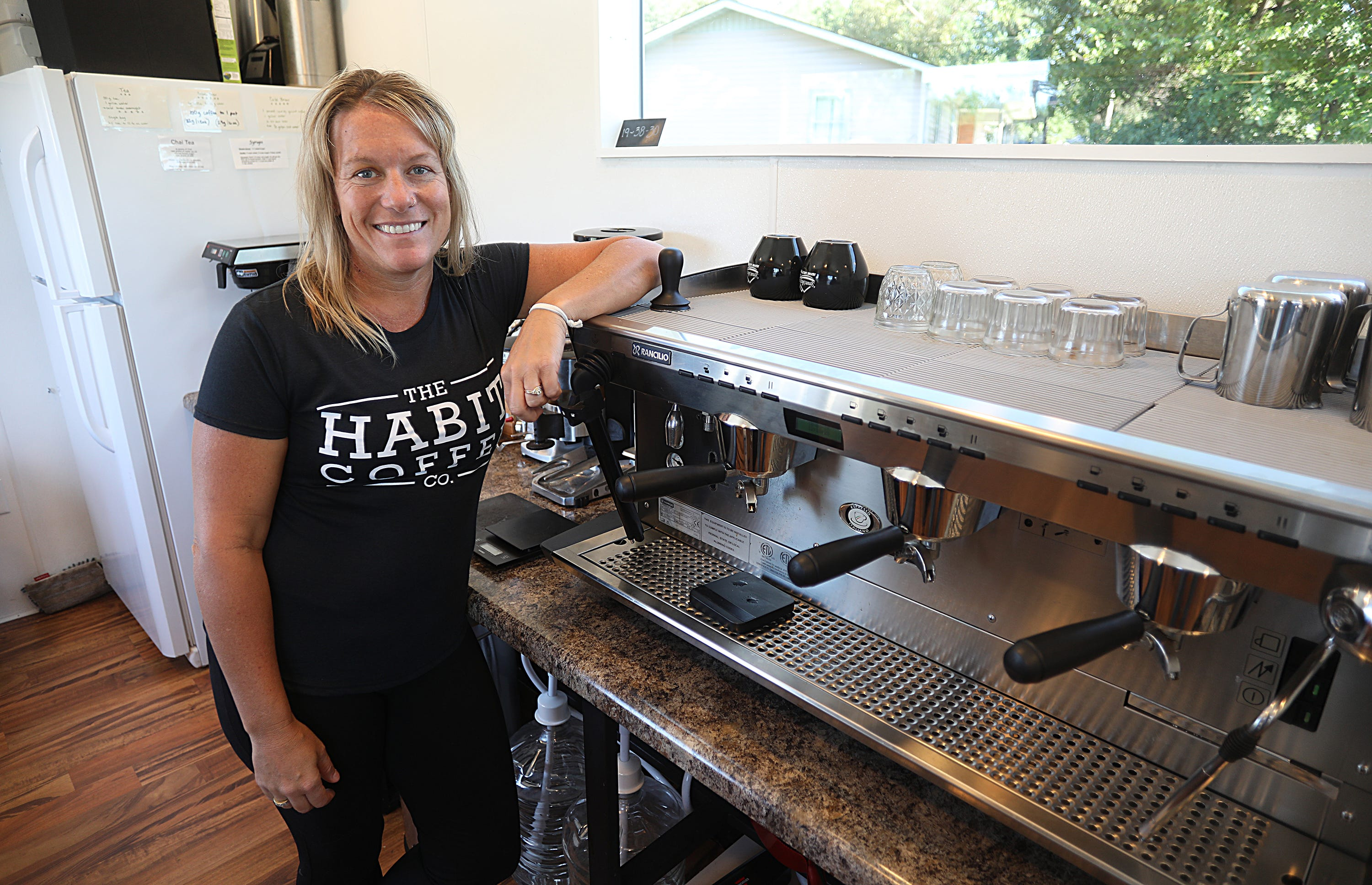 Caroline Bogema is the owner of The Habit Coffee Company, a mobile coffee shop in Fair Grove.