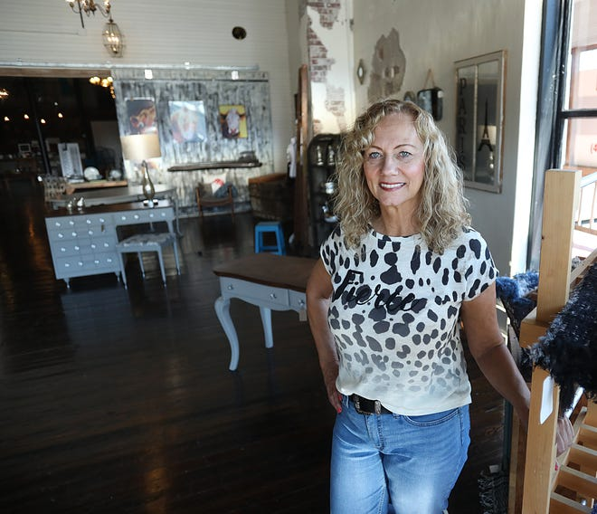 Sharlene King is the owner of King's Custom Vintage located on U.S. 60 in Billings.