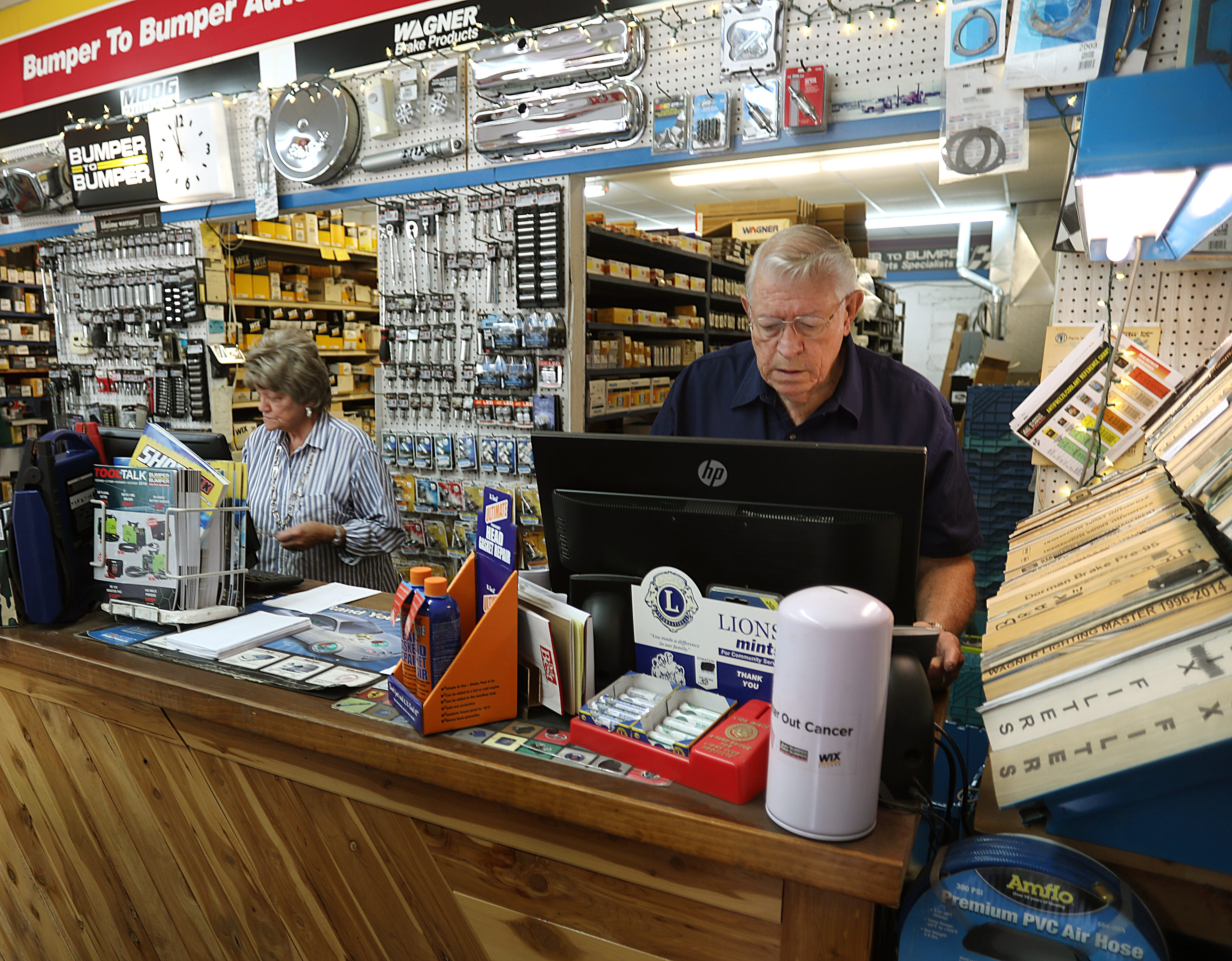 Lil and Joel Norris have owned businesses in Seymour since 1972.