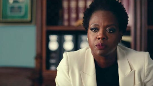 "Viola Davis stars in ""Widows,"" opening Friday."