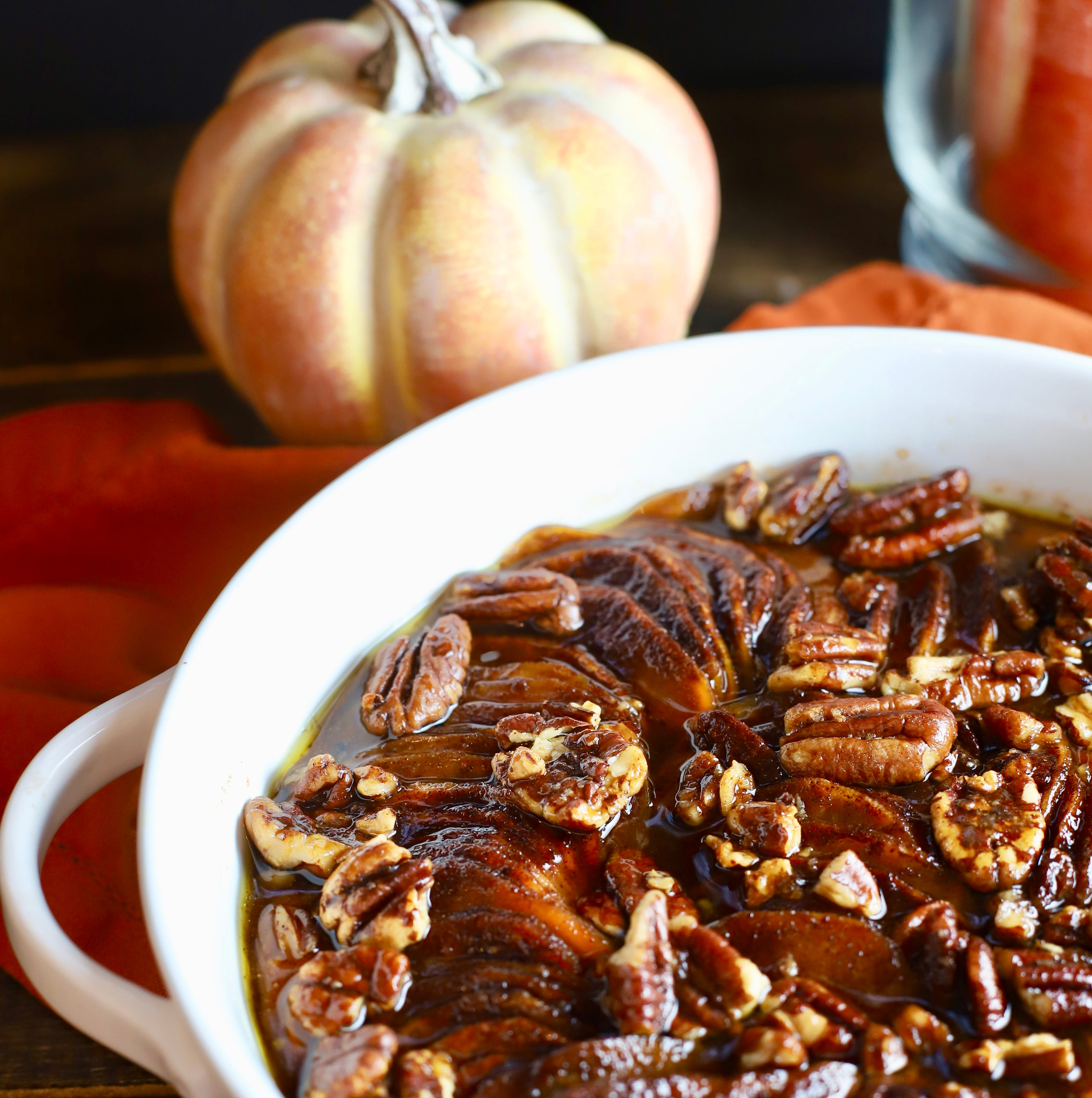 Easy Basket Southern Candied Sweet Potatoes pack holiday flavor.