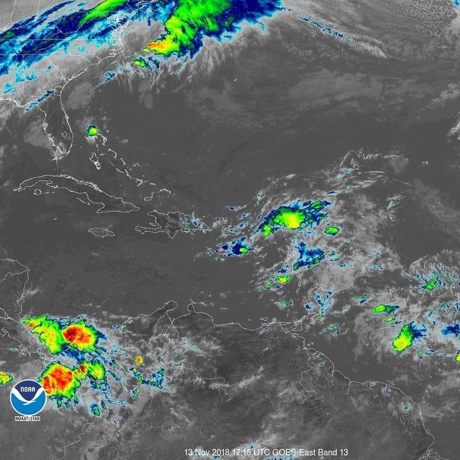 Tropical wave 12:30 p.m. Nov. 13, 2018