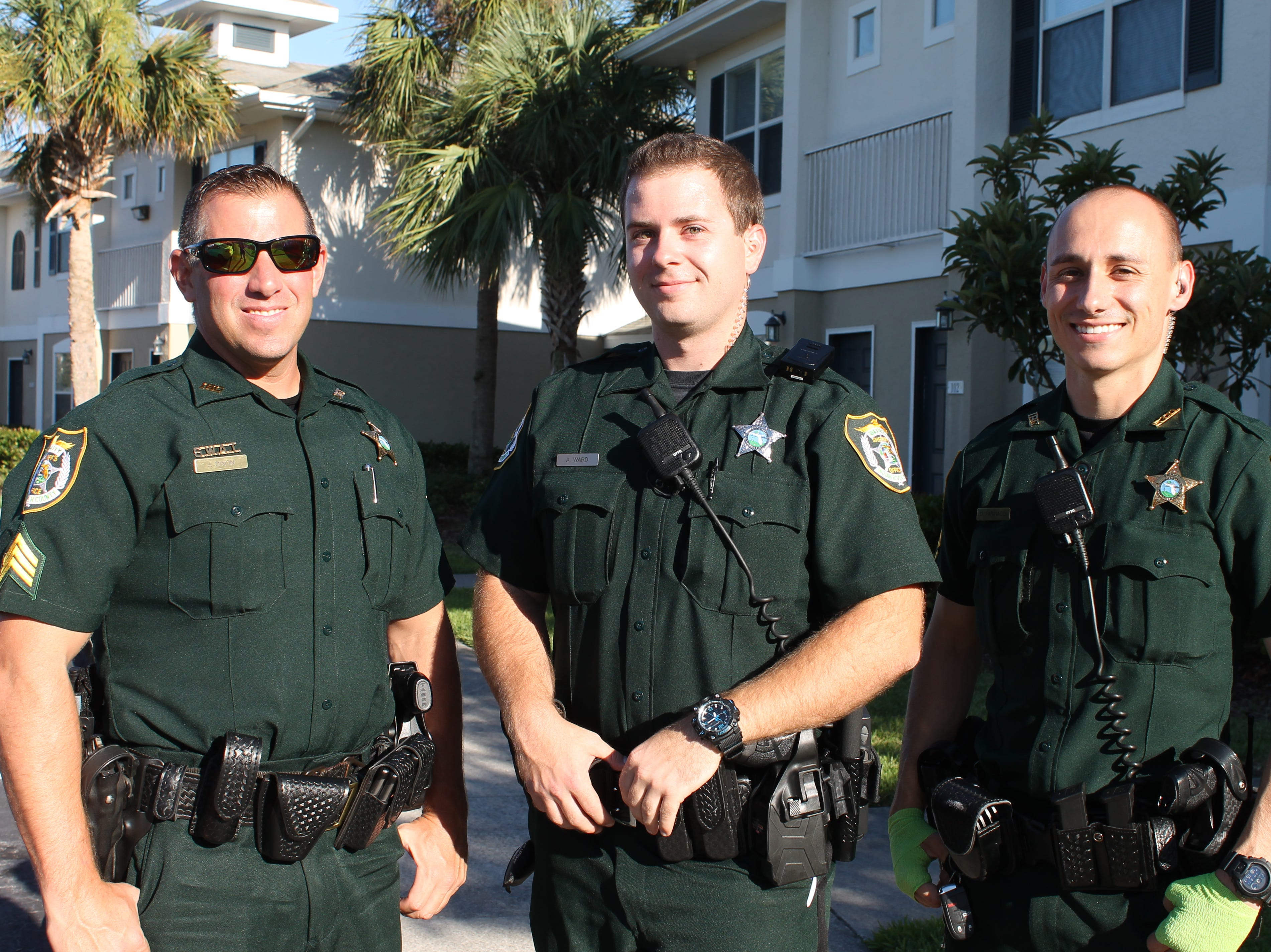 Jim Dixon, Andrew Ward and Dylan Farinacci