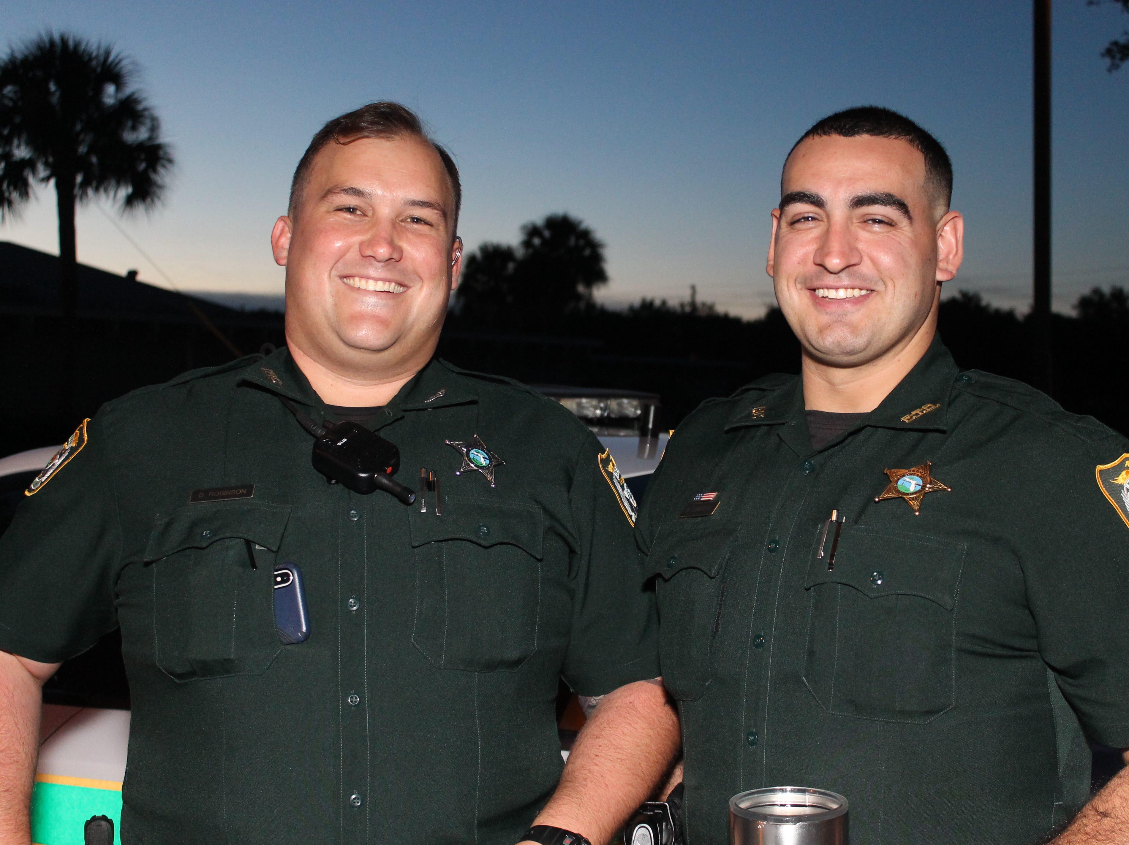 Don Robinson and Brandon Quintero