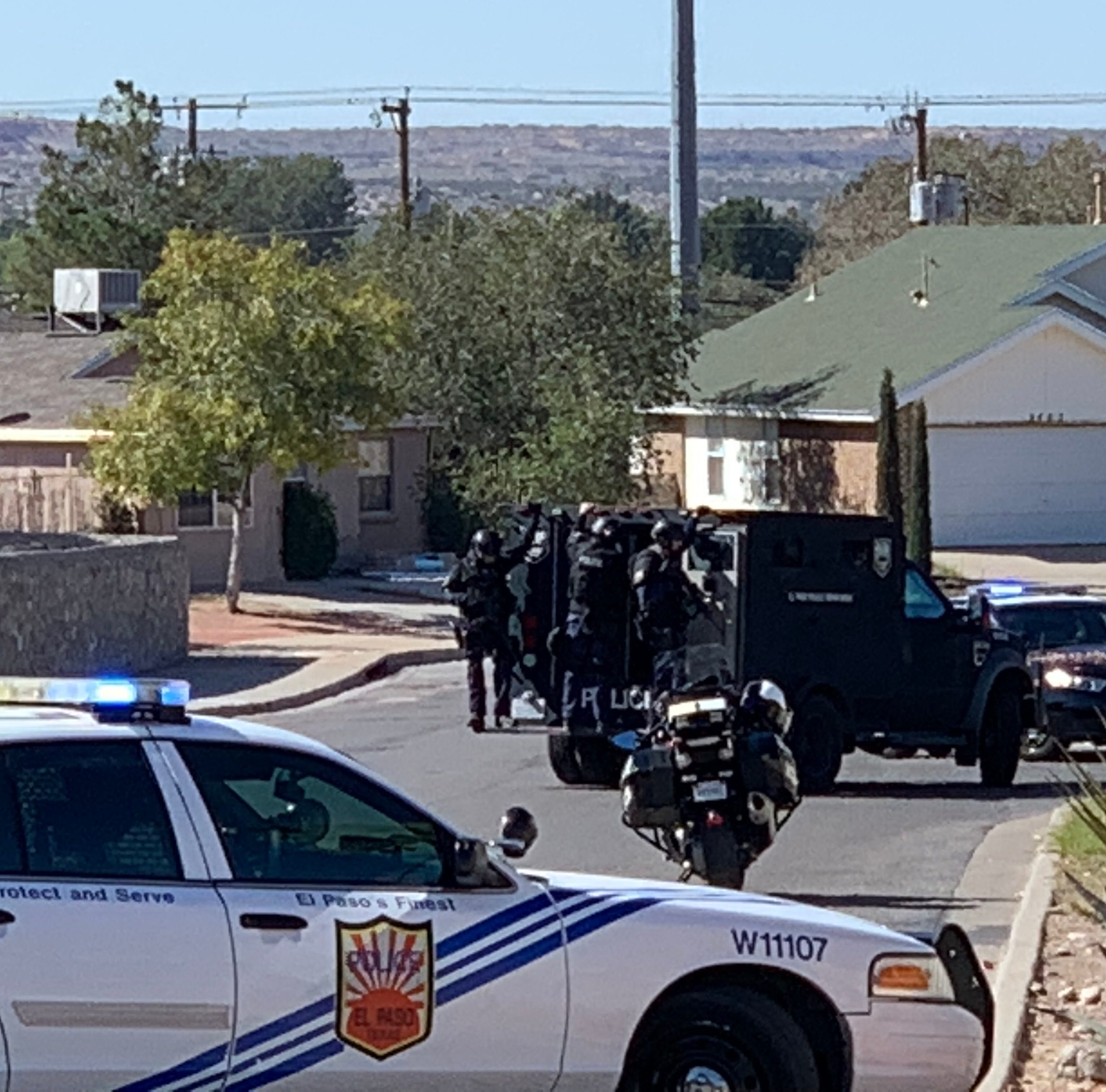 El Paso police call off SWAT response on West Side; no shots were fired