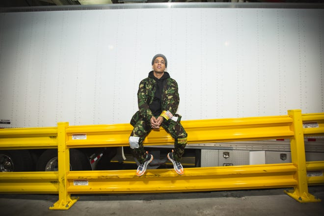 Anderson .Paak will perform a one-hour set on Saturday at the Oxnard Performing Arts and Convention Center.