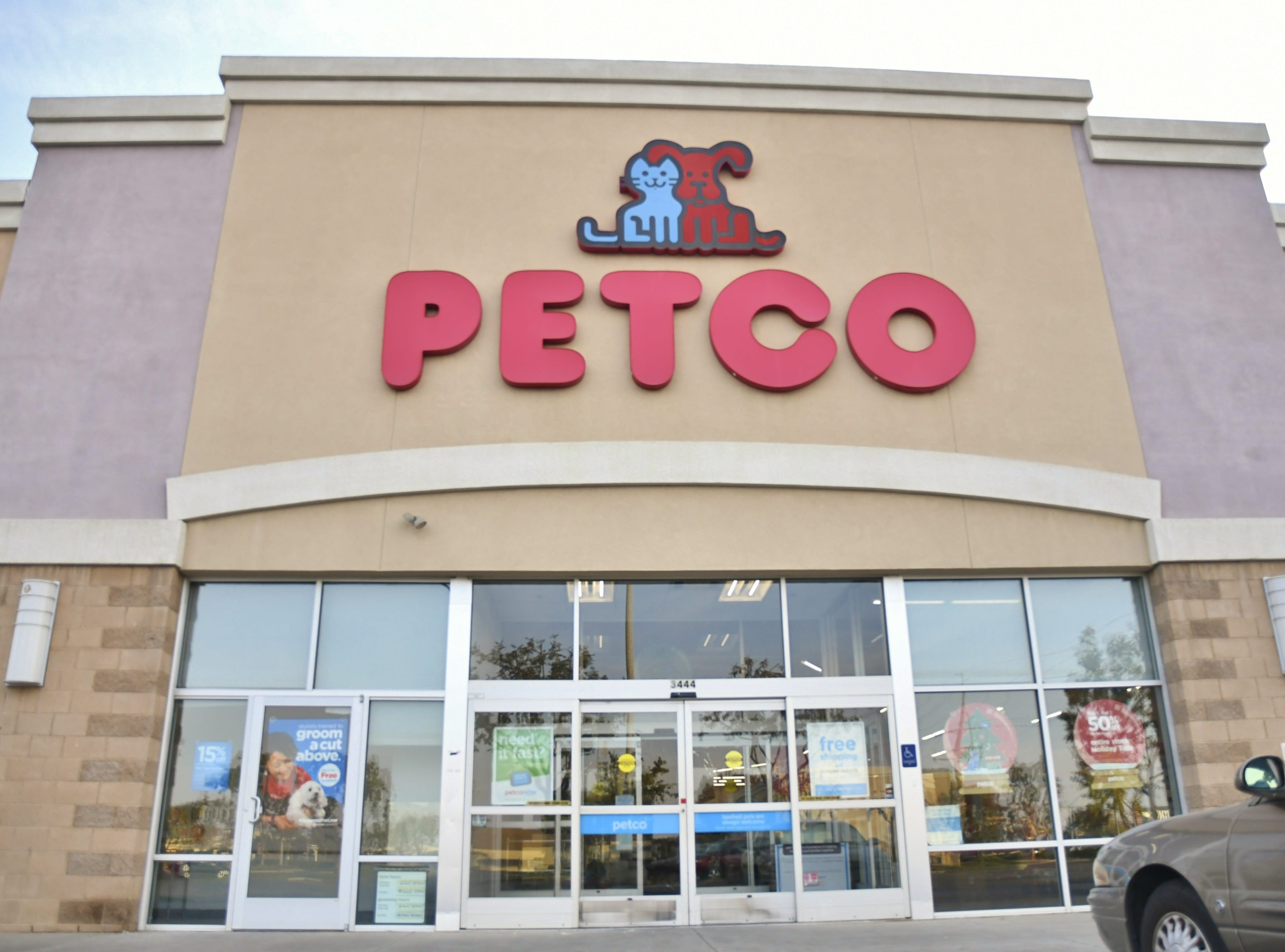 PetCo on Tuesday, November 13.
