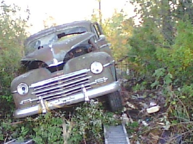 How a '48 Plymouth and a Vietnam vet salvaged each other