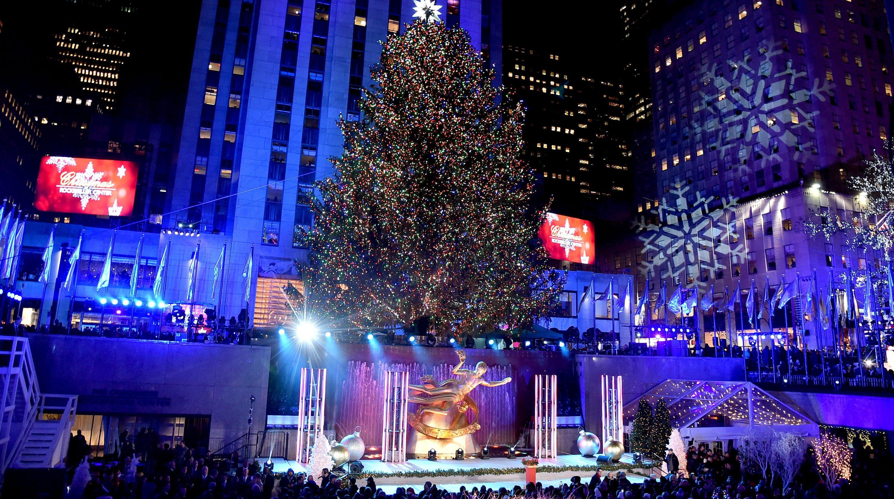 Rockefeller Center Christmas Tree lighting ceremony 2019 details