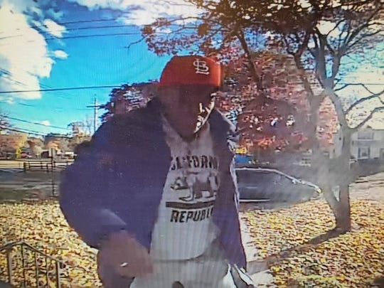 Greenburgh police said surveillance video captured this man stealing packages in town on Nov. 3, 2018.