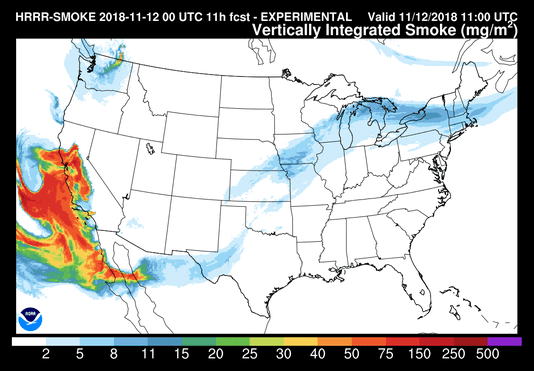 Smoke Map