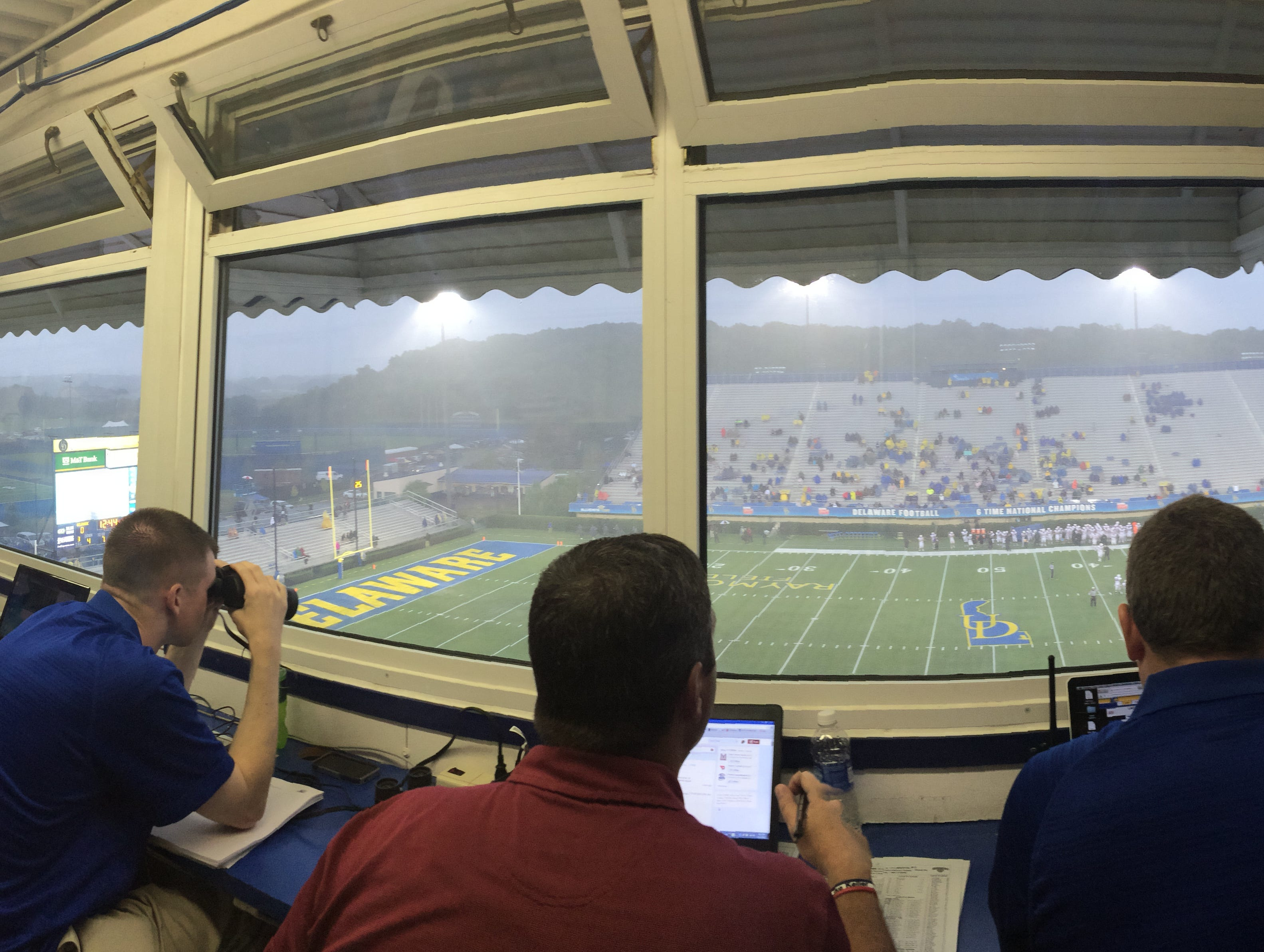 With wrecking ball coming, admiring best games from Delaware Stadium's press box