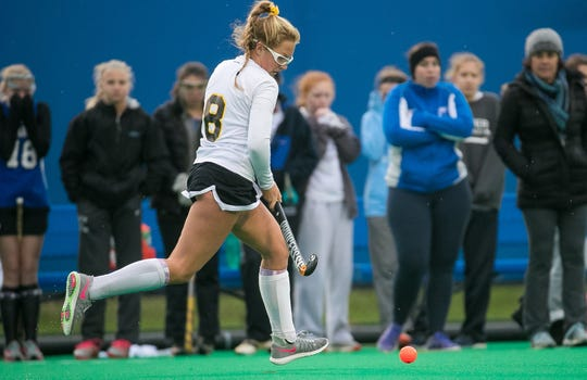 Senior Grace Mercer is among the key players for Padua, which is ranked third in Division I.