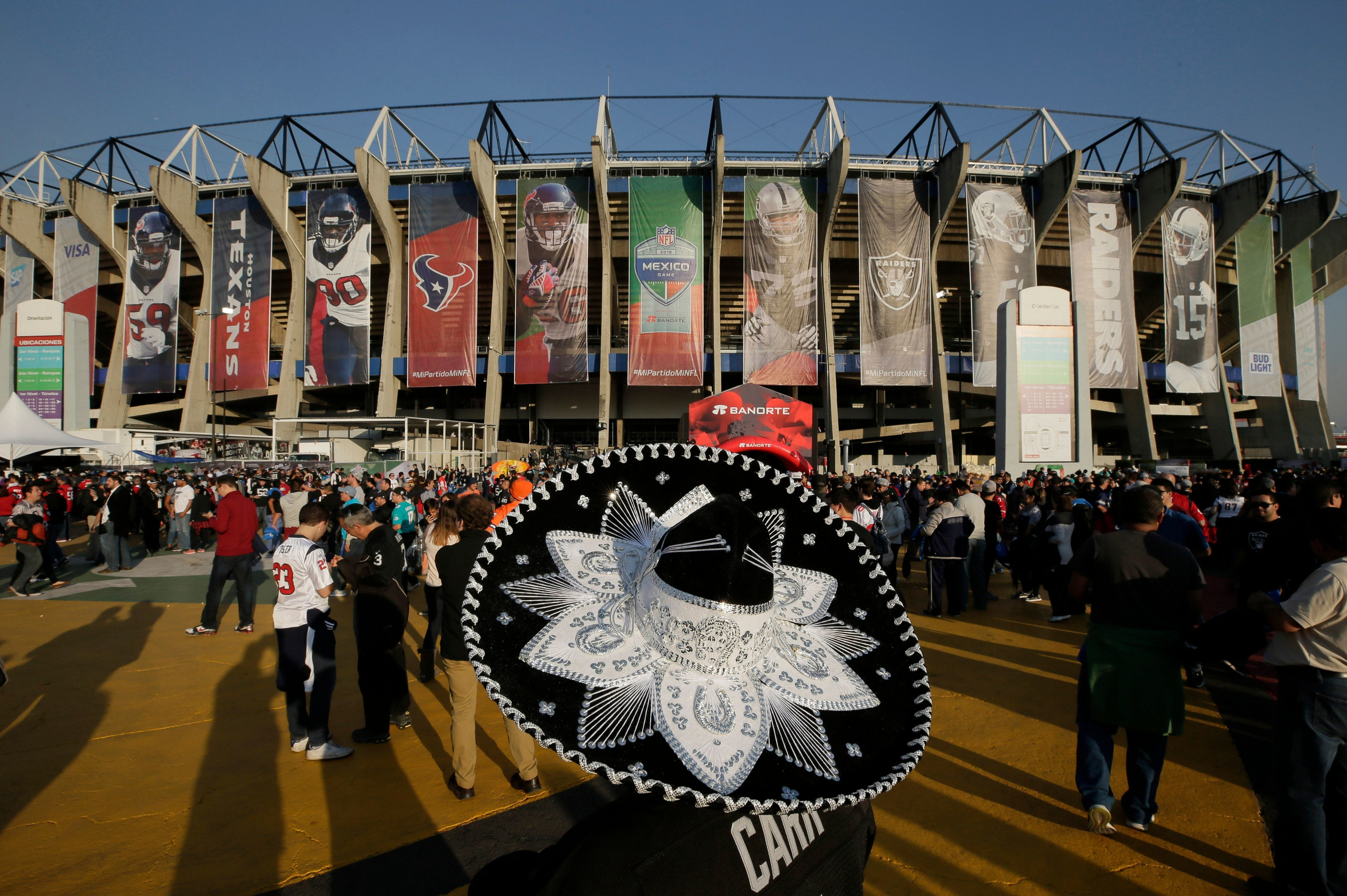 2c76a9e86a4a7 NFL moves Chiefs-Rams game from Mexico City to Los Angeles due to poor field  conditions