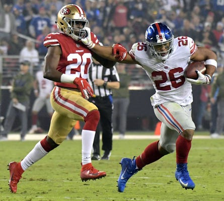 Nfl New York Giants At San Francisco 49ers