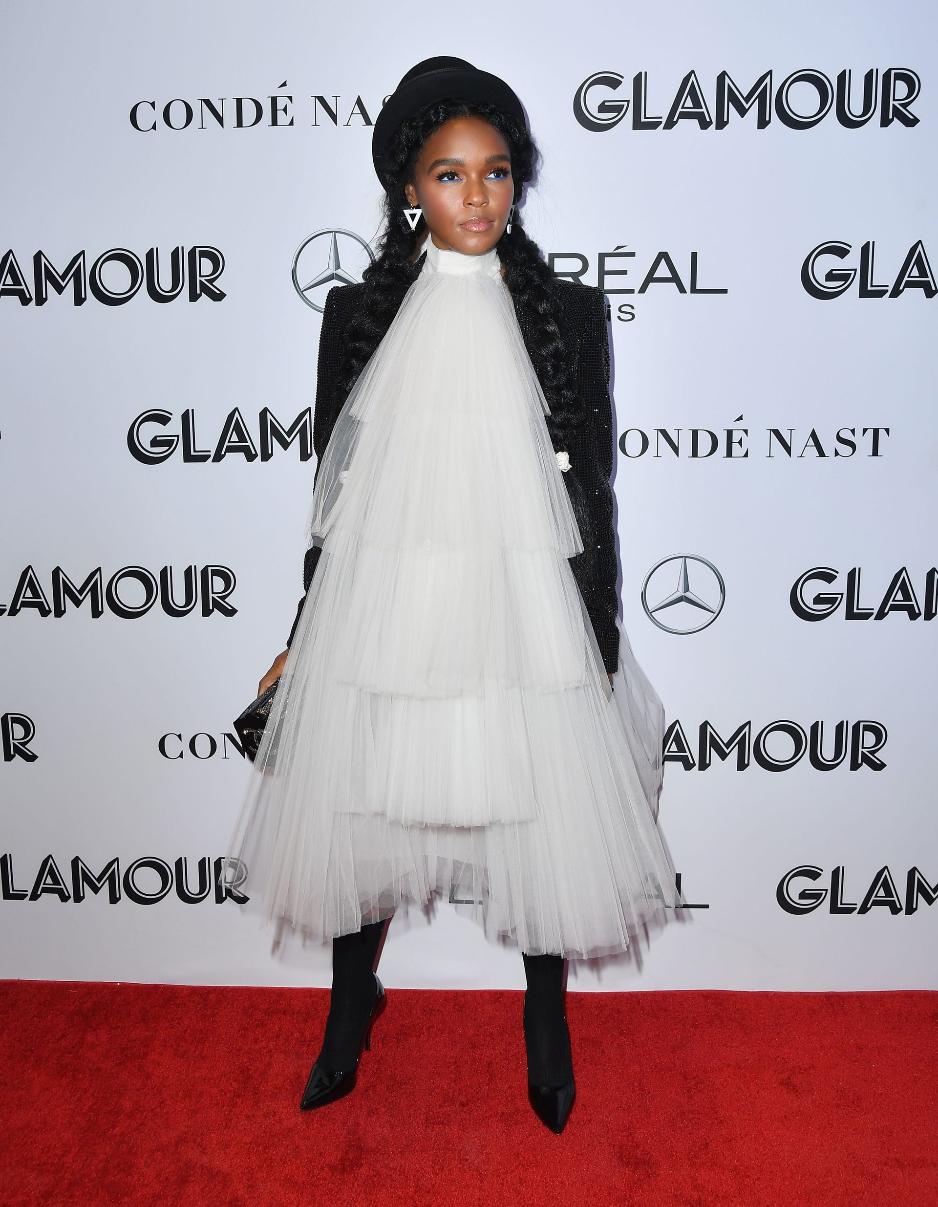 Janelle Monae, Hillary Clinton hit the Glamour Women of the Year Awards