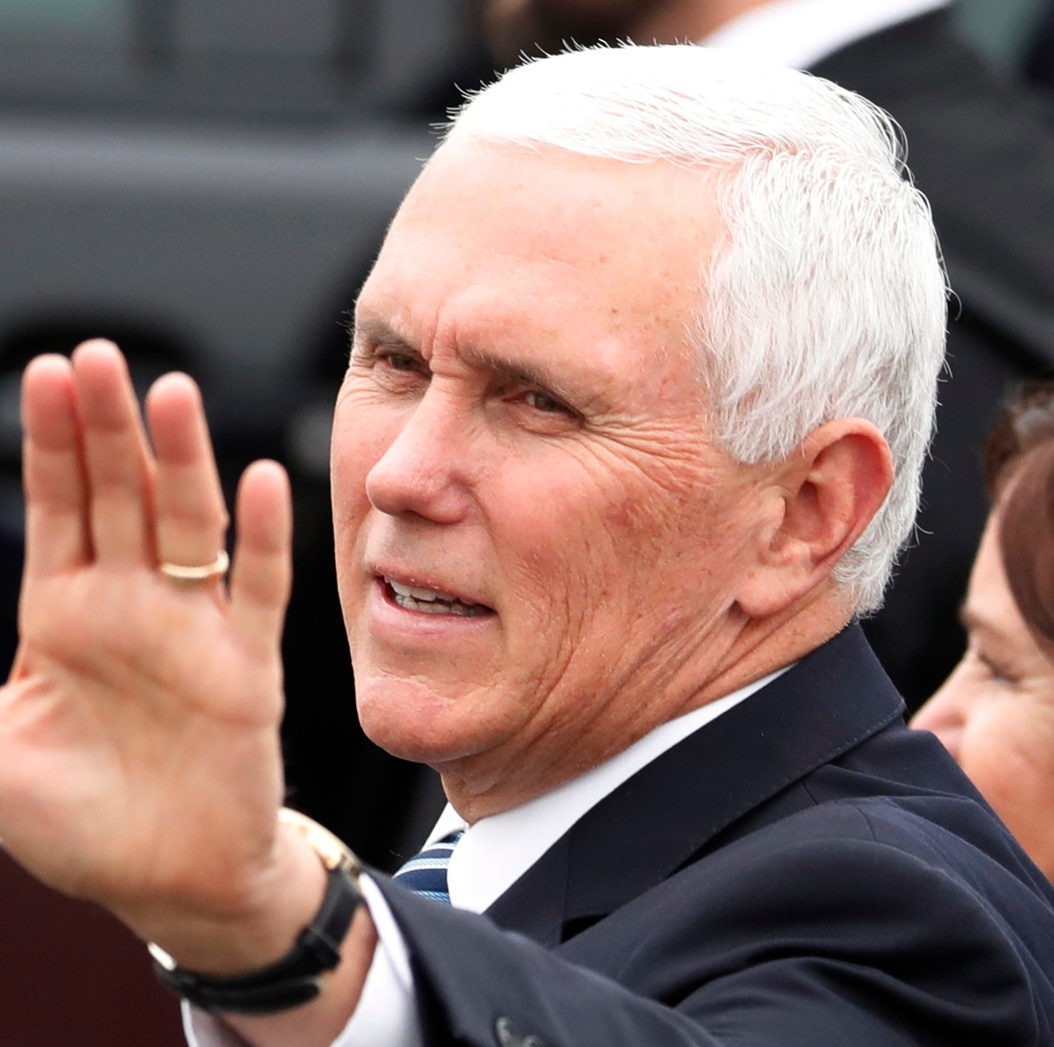Vice President Mike Pence visits Guam