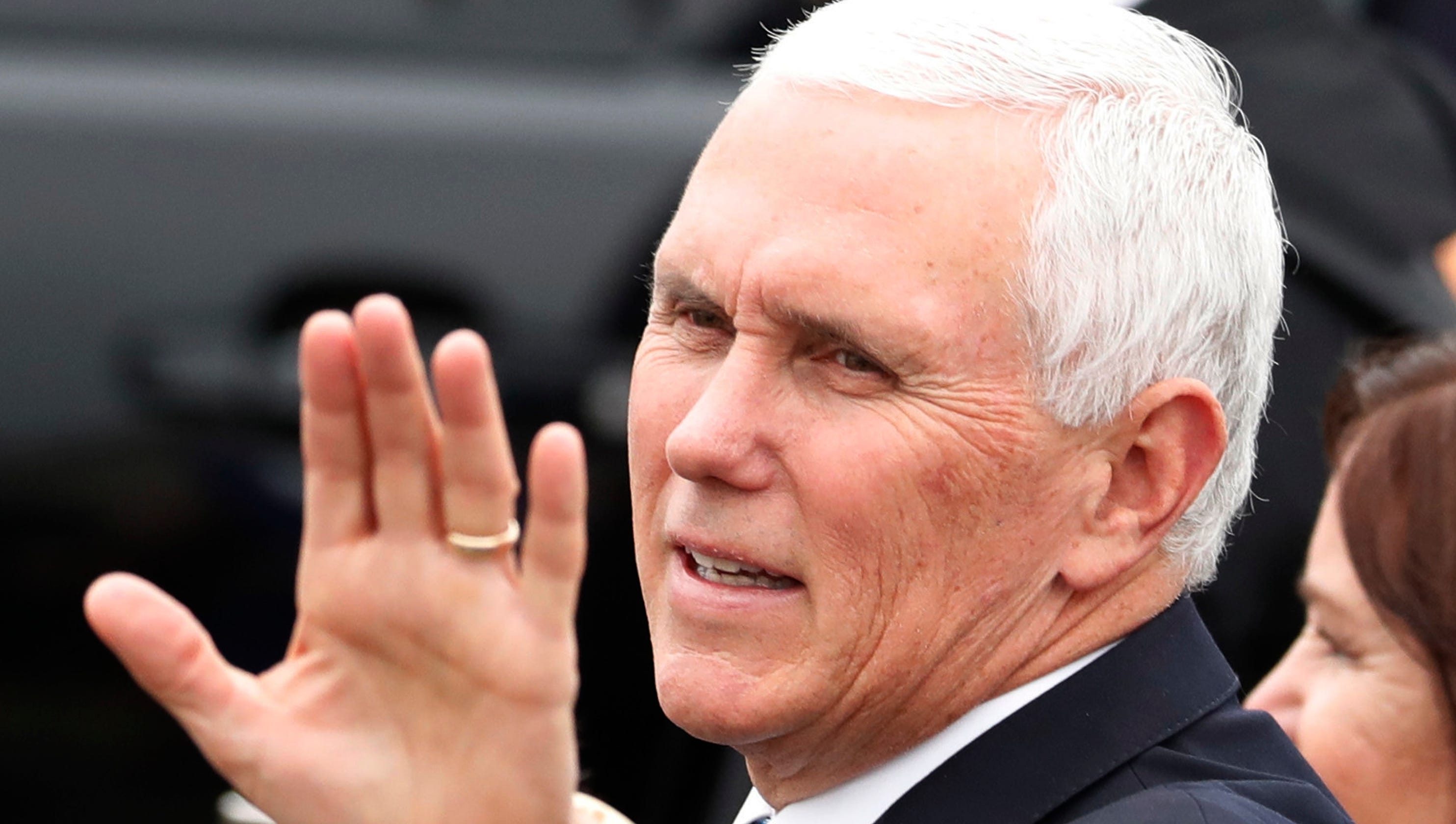 Congress could raise the pay of Vice President Mike Pence