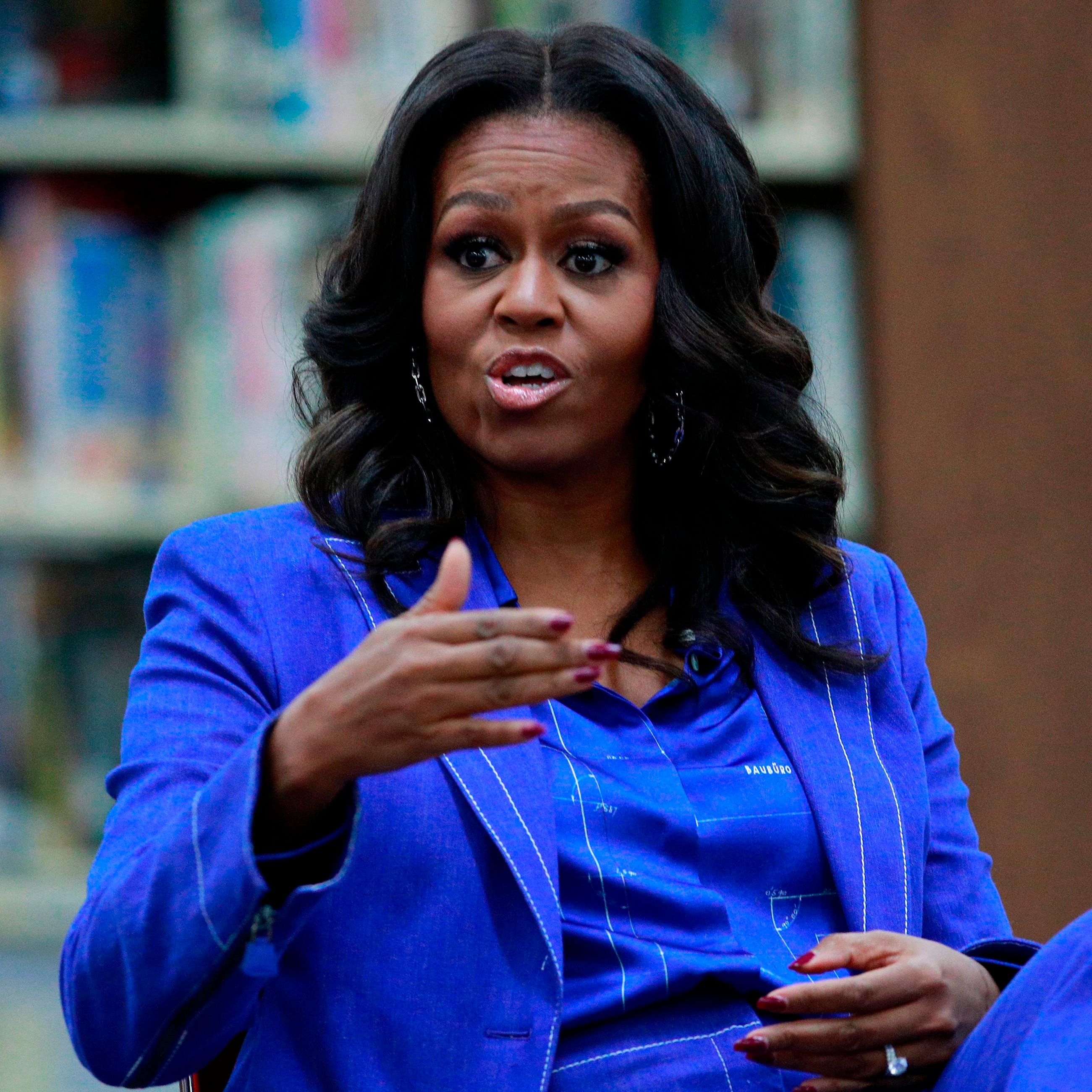 Michelle Obama says at this point, she's interested in a respectful challenger to President Trump than a flashy one.